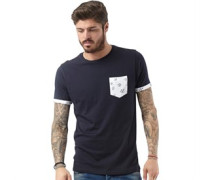 Herren Birdy T-Shirt Navy