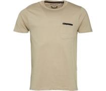 Herren Faustian Mushroom T-Shirt Grau