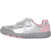 Rex Quest K Sneakers Metallic Silber