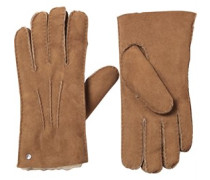 UGG Australia Womens Glove With Gauge Points Chestnut