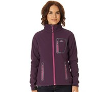 Trespass Damen Homelake Soft Shell AuberginePansy Performance Jacket Lila