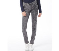 adidas Neo Damen Super Skinny Jeans Hellgrau