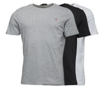 Merion Drei Pack Lounge T-Shirt Schwarz