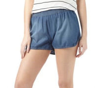 Damen Legend Denim Shorts Medium Blue Denim