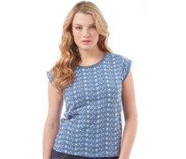 Damen Top Indigo