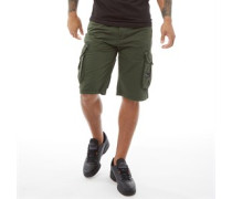 Chaseforth Combat Cargo Shorts Oliven