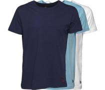 Herren Drei Pack T-Shirt Mehrfarbig