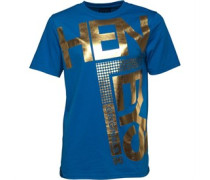 Herren Fleek T-Shirt Blau