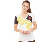 Damen UFC T-Shirt Naturweiß