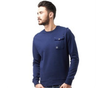 Duck and Cover Herren Reilly French Sweatshirt French Navy