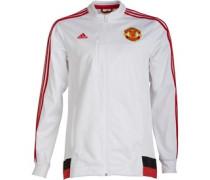 adidas Herren MUFC Manchester United 3 Anthem Training Top Weiß