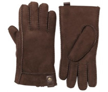UGG Australia Womens Sidewall Glove With Tab Chocolate