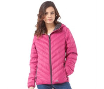 Trespass Womens Release Hooded Padded Jacket Azalea