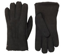 UGG Australia Womens Glove With Gauge Points Black