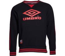 Umbro Herren Pro Tempo Sweatshirt Schwarz