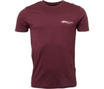 Nico T-Shirt Kastanienbraun