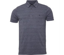 Peter Werth Mens Vista Polo Grey/Purple