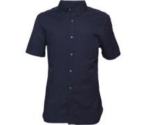 Linen Hemd mit kurzem Arm