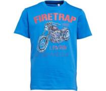 Firetrap Junior Motorcycle T-Shirt Deep Sky Blue