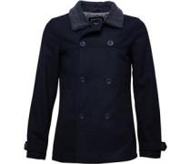 Herren Wool DB Jacke Blau