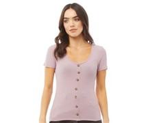 Polly T-Shirt Dunkelflieder