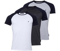 Raglan T-Shirt Anthrazitmeliert
