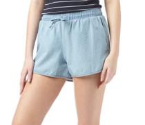 Damen Lavender Shorts Light Blue Denim