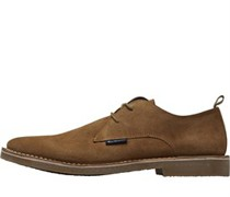 Laurie Suede Schuhe Sandfarbe