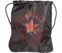 Converse Jungen Sporttasche Schwarz/Rot