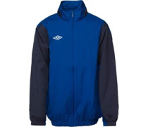 Umbro Junior Shower Jacket Royal/Navy