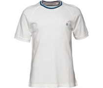 Original Penguin Herren Athletic Seamed T-Shirt Weiß