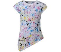 Converse Mädchen ed Asymmetric Tunic Colourfilled Splatter Top Mehrfarbig