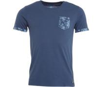 Herren Jackson T-Shirt Blau