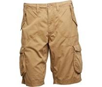 Herren Cargo Shorts Gelb