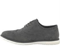 Wildleder Schuhe Grau