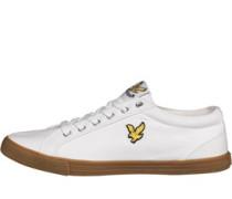 Lyle And Scott Vintage Herren Halket Freizeit Schuhe Weiß