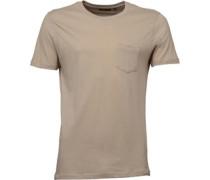 Herren Arkham T-Shirt Steingrau