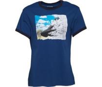 Herren Chucks Triple Ringer T-Shirt Navy