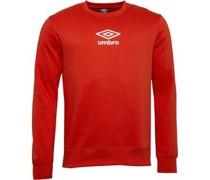 Active Style Emblem Sweatshirt Blutorange