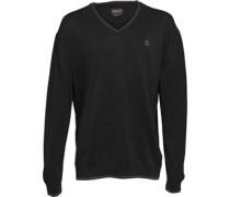 Long Point Pullover mit V-Ausschnitt