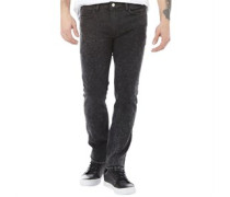Herren Noize Jeans mit geradem Bein Schwarz