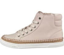 Womens Gradie High-Top Trainers Antique White