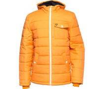Herren Wadded Squash Parka Jacke Orange