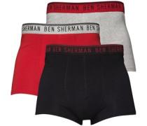 Ben Sherman Herren Anton Boxershorts Mehrfarbig