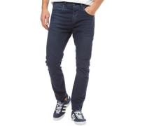 Luke Echo Jos 999 Anti Fit Jeans in Slim Passform Dunkel Gewascht