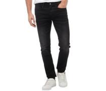 Herren Laundry Skinny Jeans Schwarz