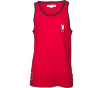 U.S. POLO ASSN. Mens Mayor Vest Tango Red