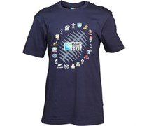 Canterbury Herren 2 Nations Ball Graphic T-Shirt Blau