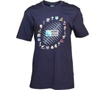 Canterbury Herren 2 Nations Ball Graphic T-Shirt Blau