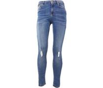 Sophia High Waist Skinny Jeans Denim